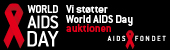 Vi støtter World Aids Day