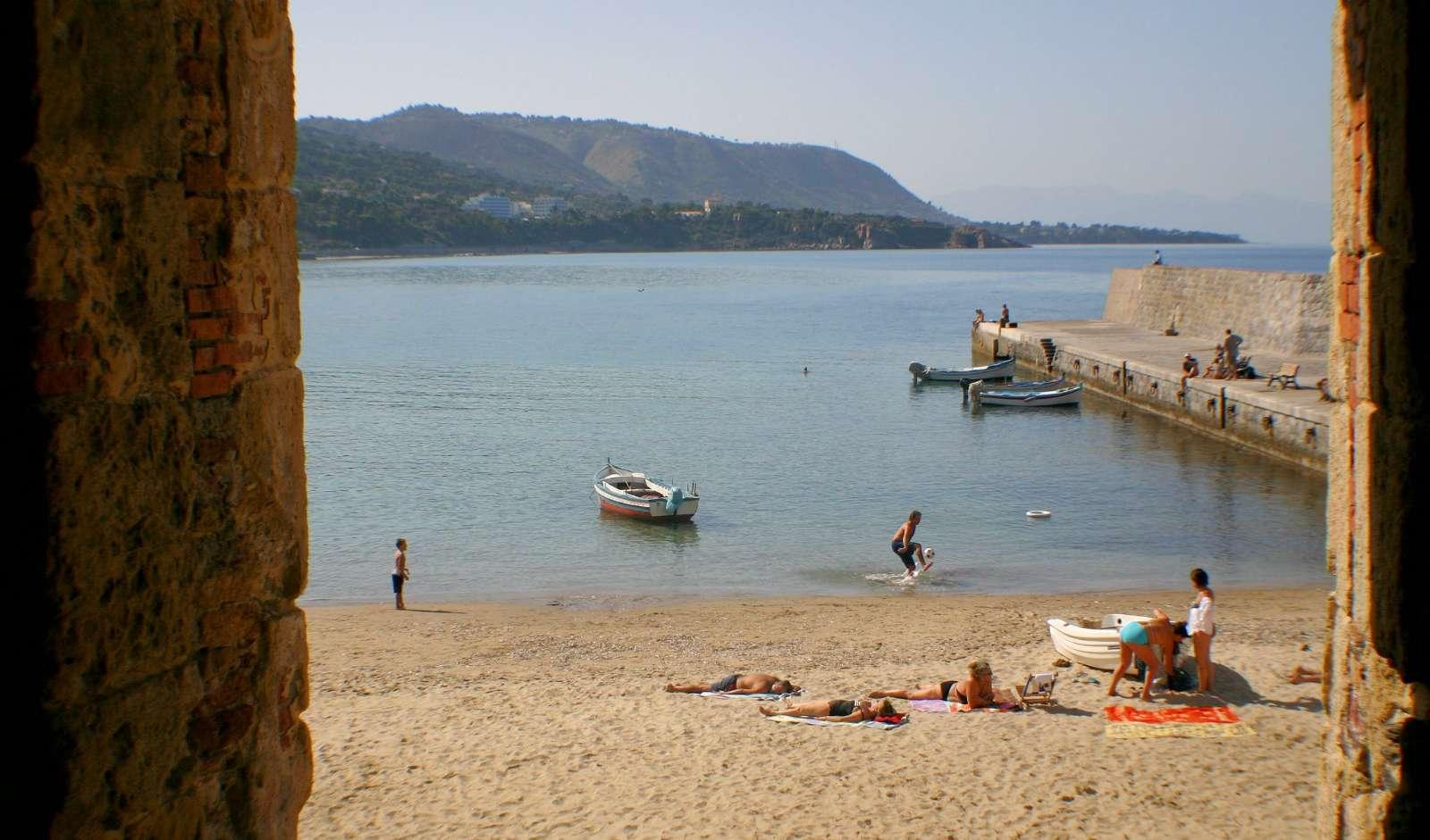 La plage à Suites sul Molo