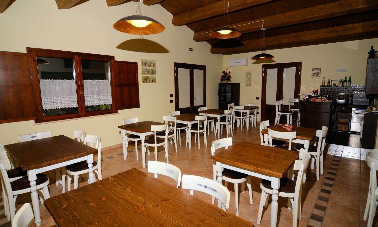 Restauranten på Casale Il Tiglio