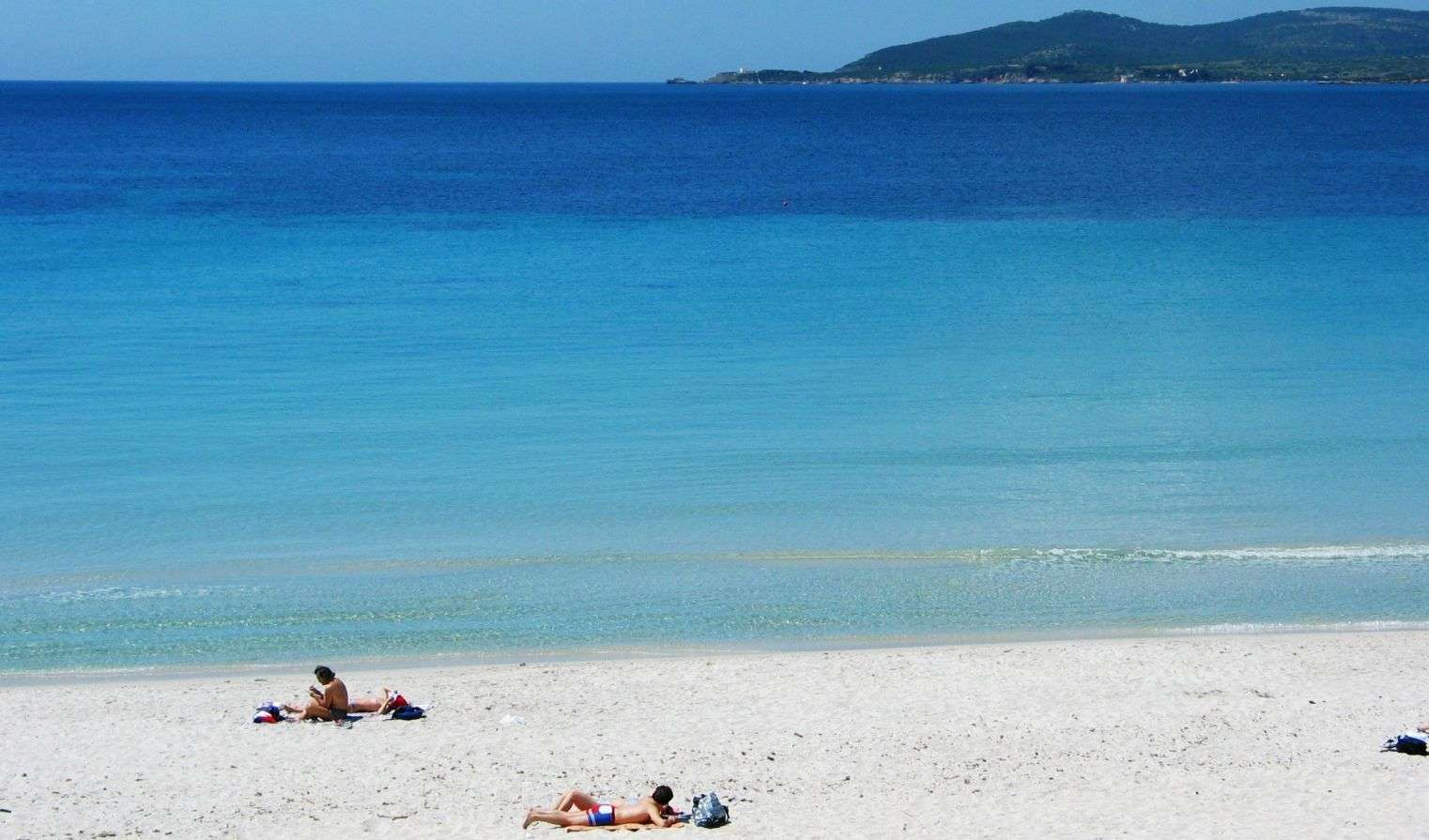 Der wunderschöne Strand von Maria Pia