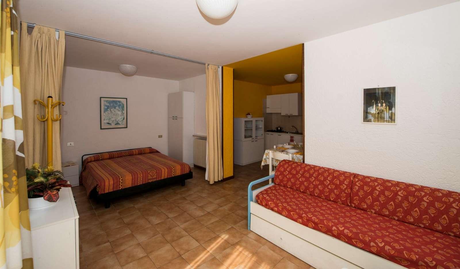Appartement deux-pièces type A pour 4/6 personnes (Type A)