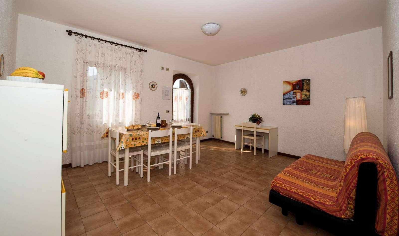 Fireværelseslejlighed med 6/8 sovepladser (type C)