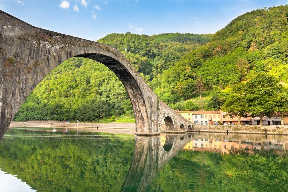 Ponte della Maddalena (auch Ponte del Diavolo genannt)