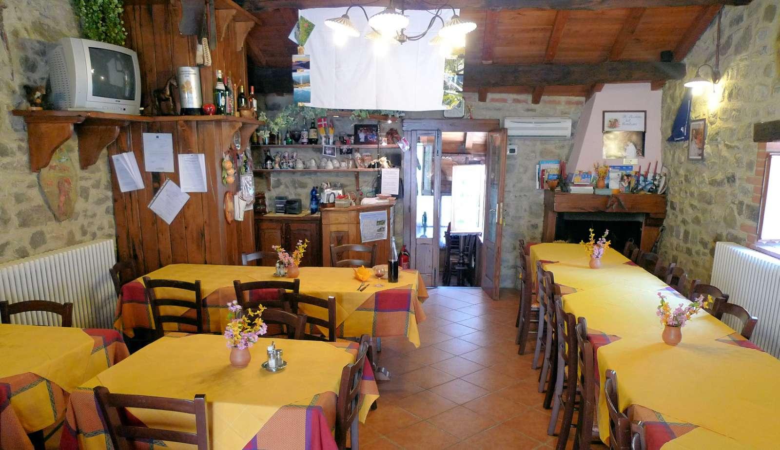 Restauranten på Il Ristoro del Cavaliere