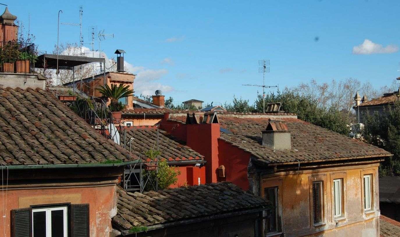 Utsikten från lägenheten Terazza Benedetta i Rom