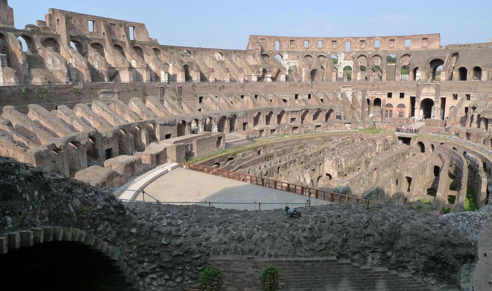 Insidan av Colosseum