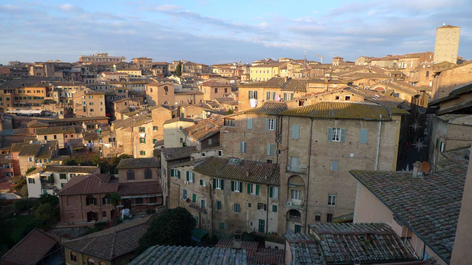 Siena är även vacker i januari