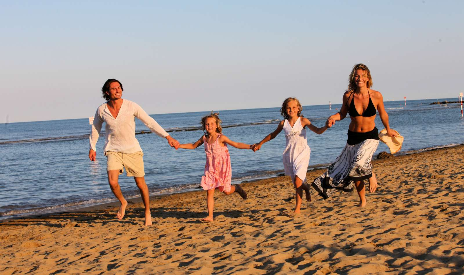 Strandurlaub für die ganze Familie in Lignano