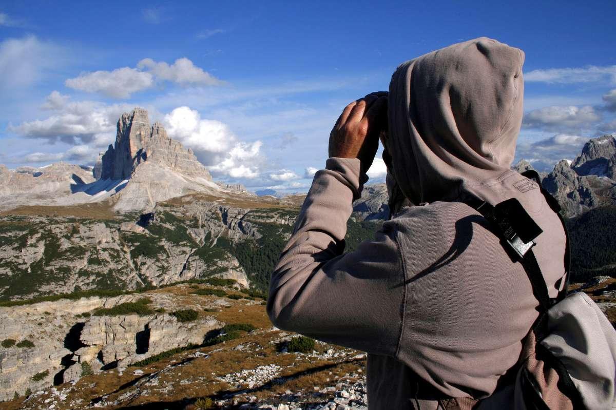 Udsigt over Dolomitterne