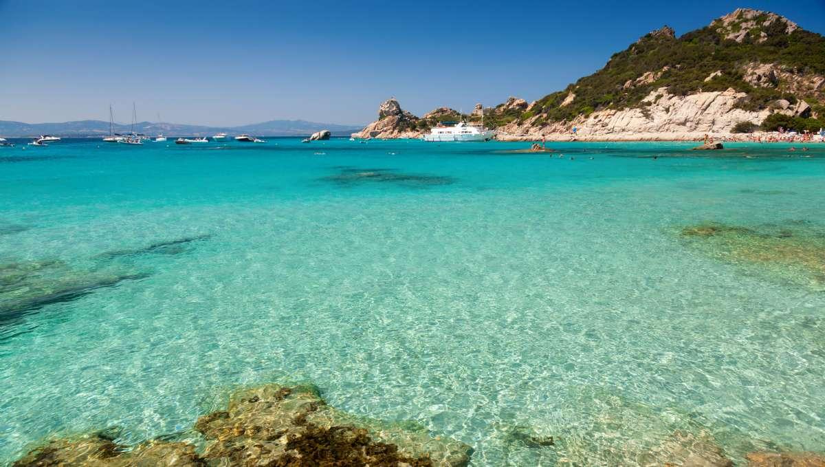 Cala Corsa, île de la Maddalena