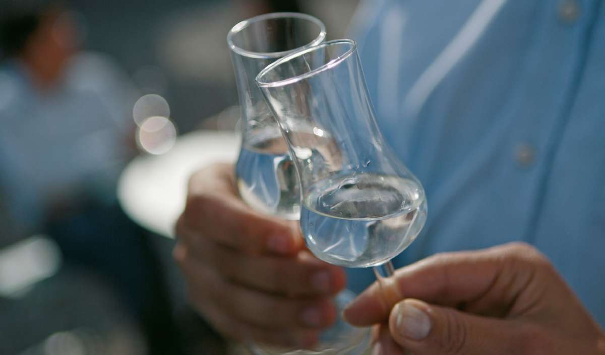 Grappa dricker man ur riktiga grappaglas