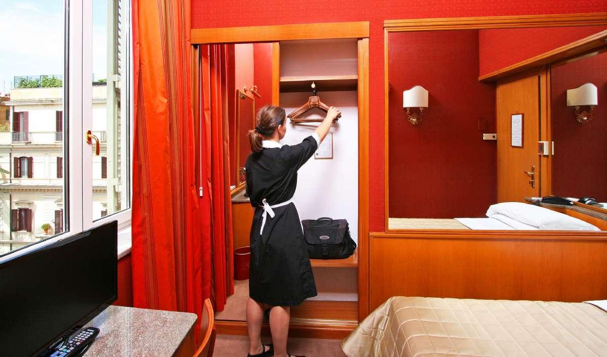 Beispiel Einzelbettzimmer Standard