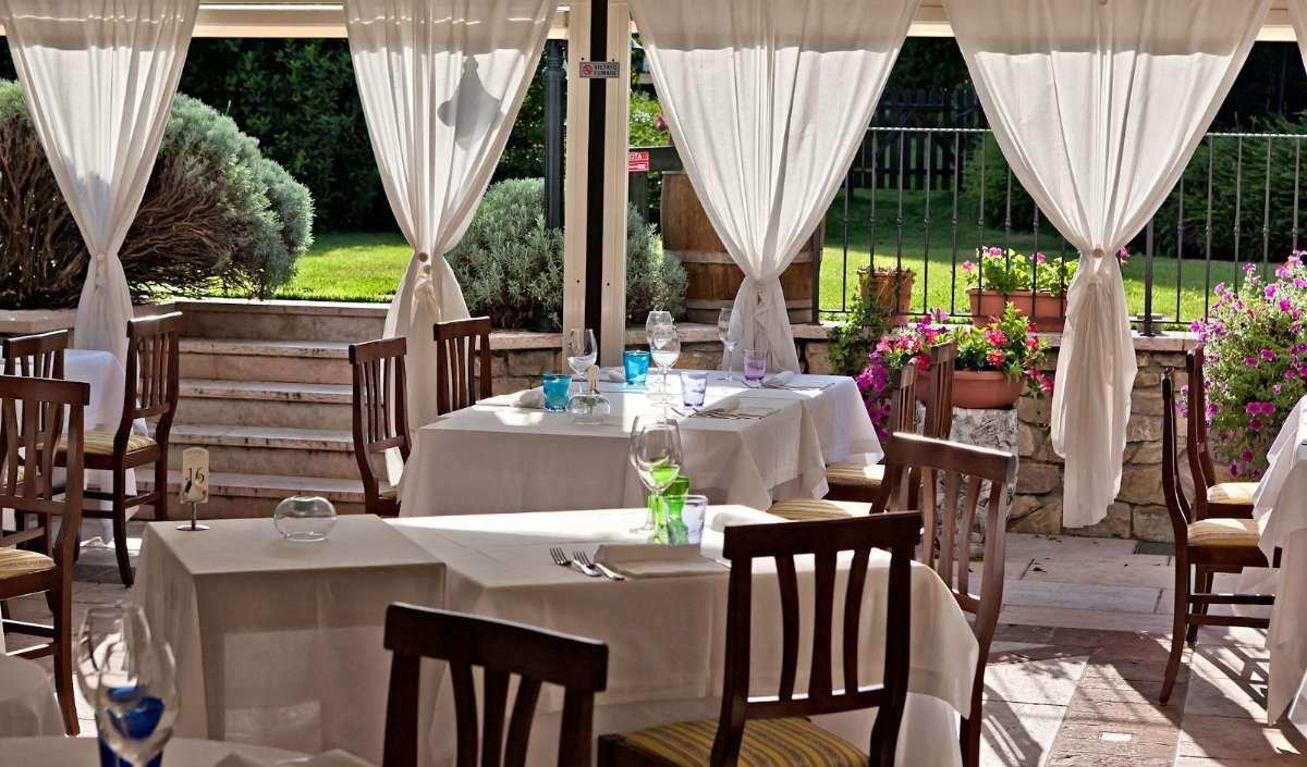 Terrassen ved restaurant Locanda 800