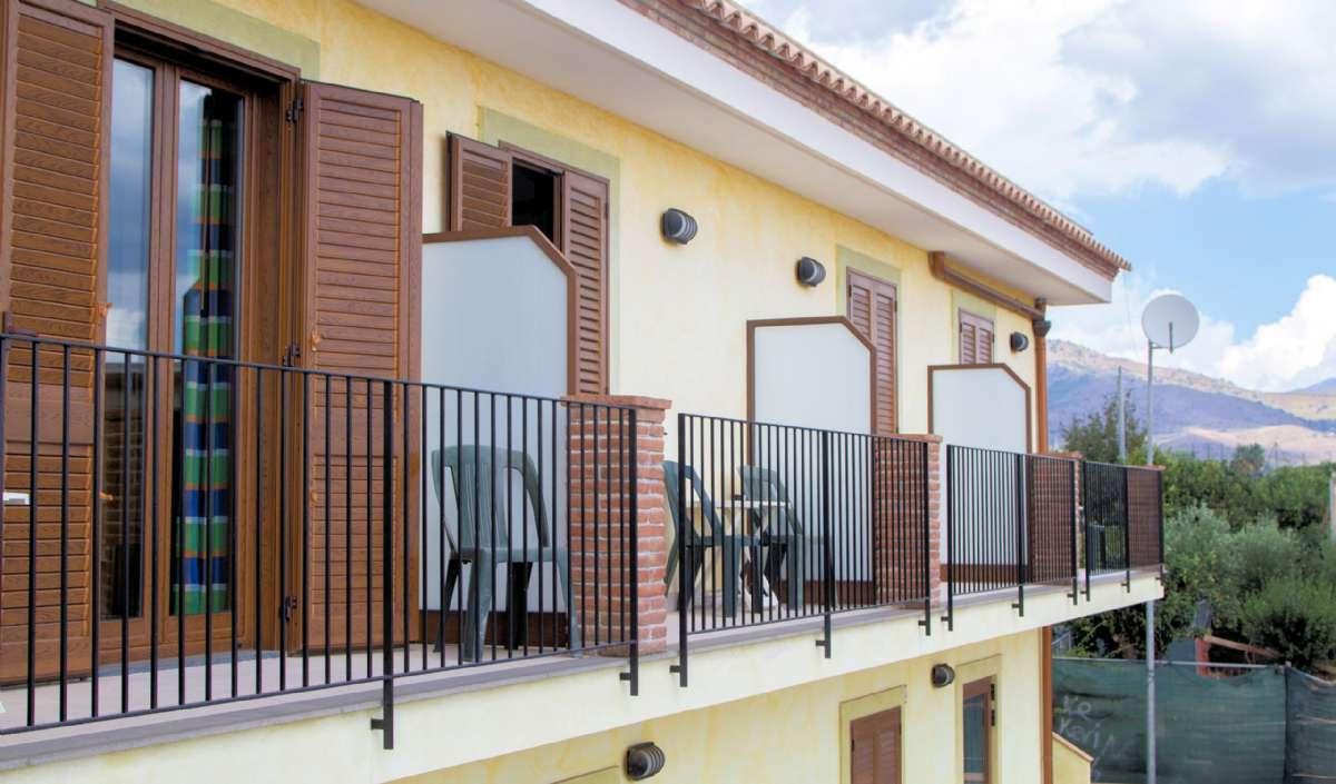 Superiorværelserne med tilhørende balkon