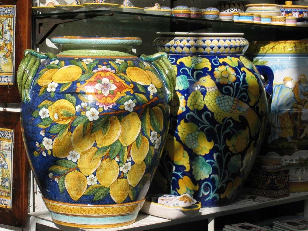 Keramik fra Ravello.