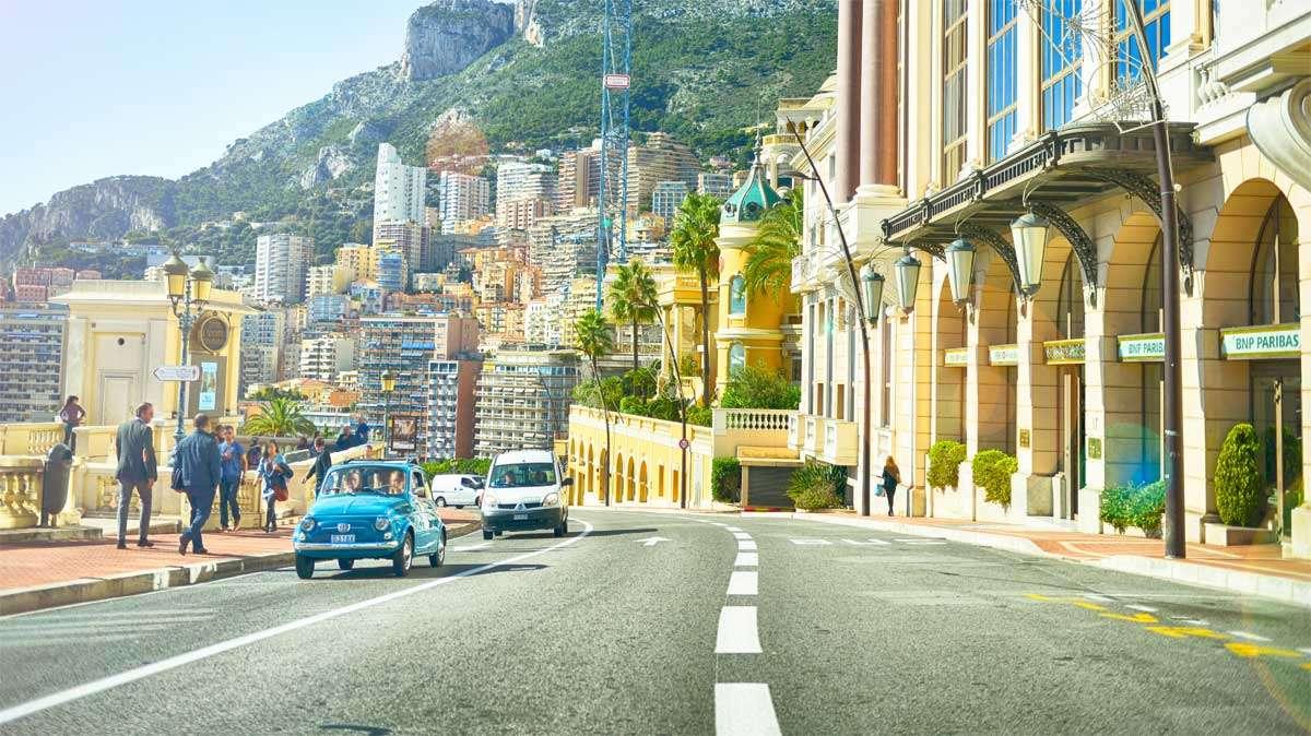 Gader og huse med italiensk charme.