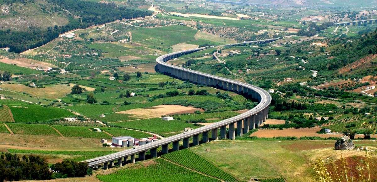 A29 på Sicilien er en helt speciel Autostrada