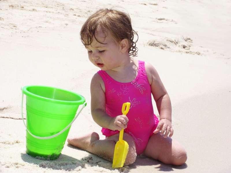 Når stranden er alt, hvad I har behov for
