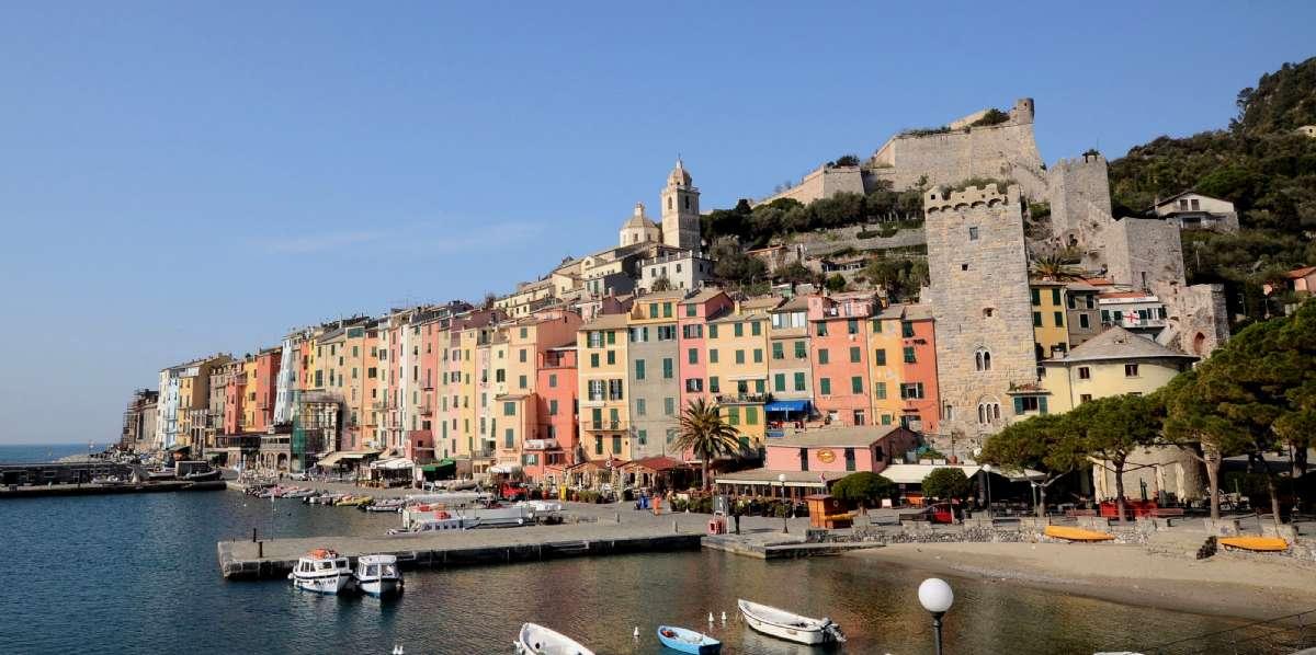 Portovenere på Den Italienske Riviera