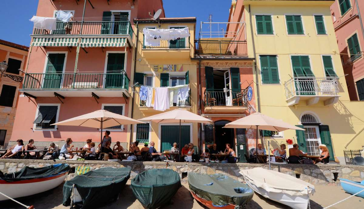 Sommerstemning i Sestri Levante