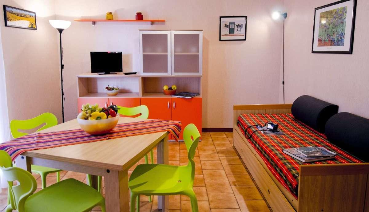 Ein Beispiel für die Wohnung Typ B4