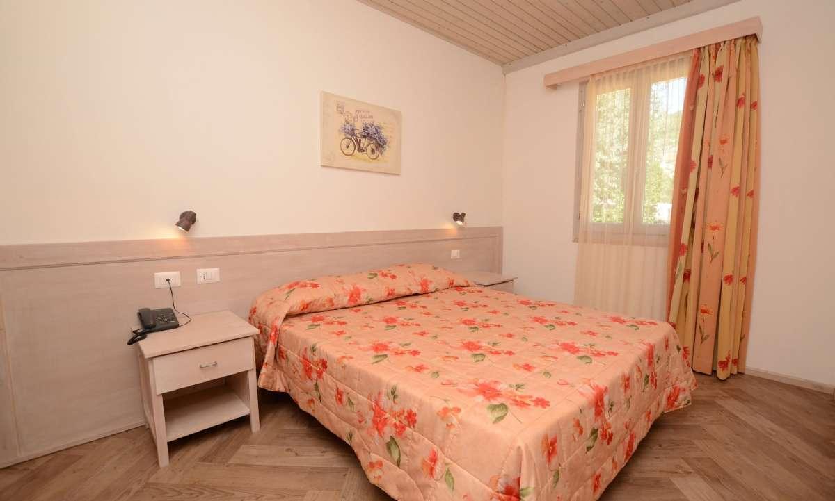Eksempel på soveværelse i Villino-rækkehusene