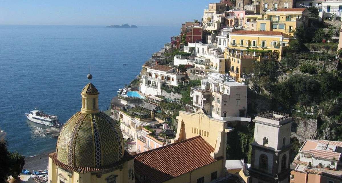 Tag på ferie i Syditalien med In Italia - her Positano.