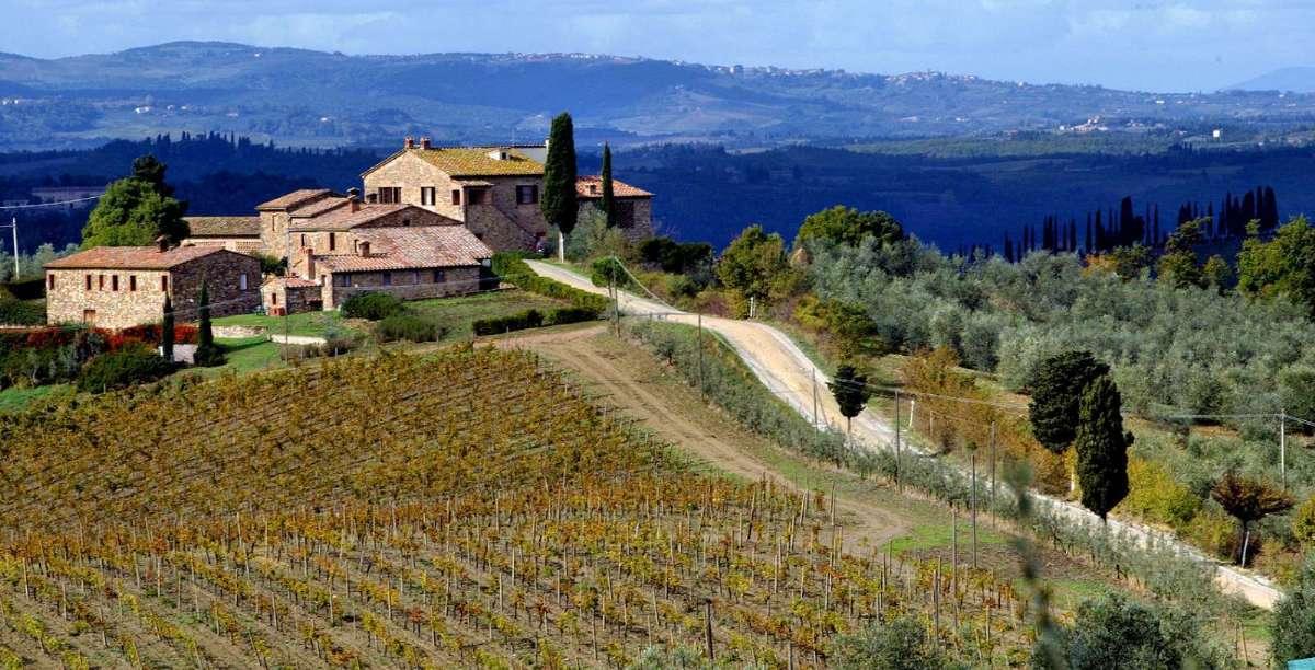 Vælg mellem mange dejlige Agriturismo i Toscana med In Italia.