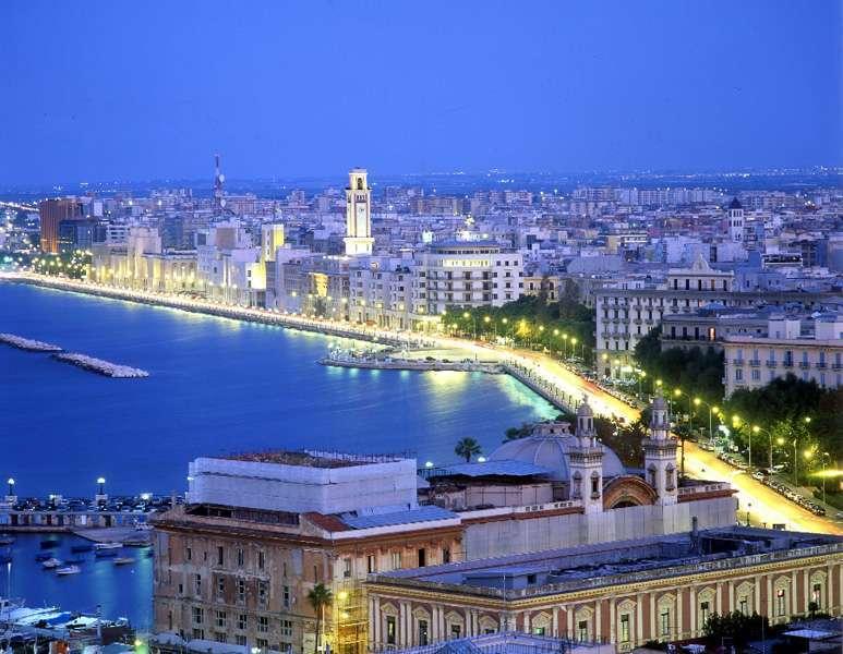 Ferie i Bari i Apulien