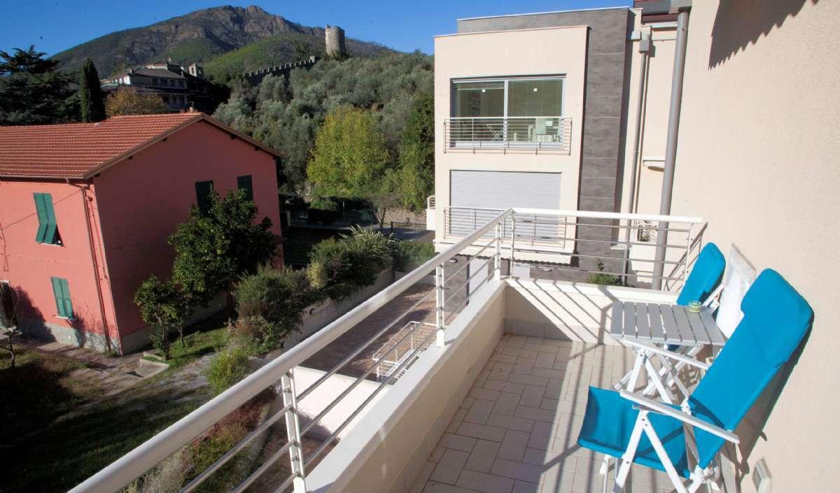 Terrasse der Wohnung C8