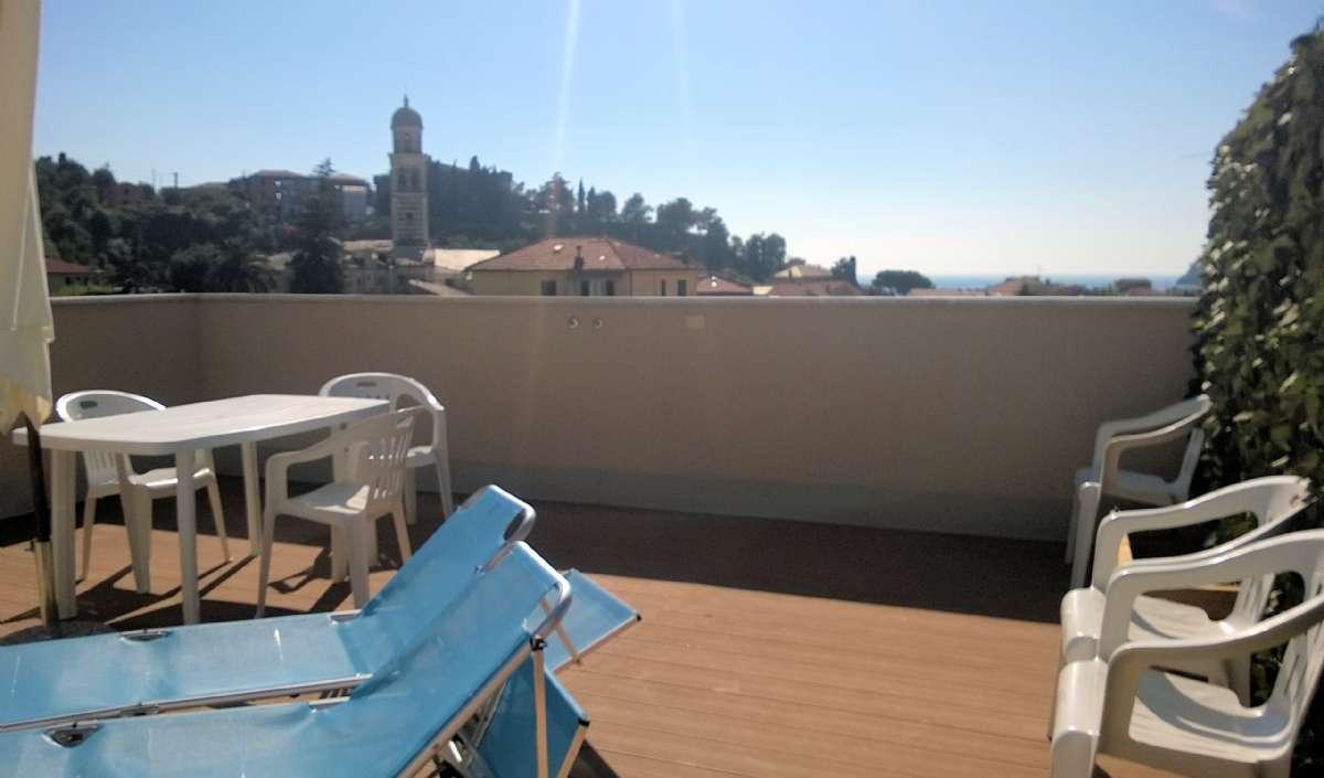 Terrasse der Wohnung A12