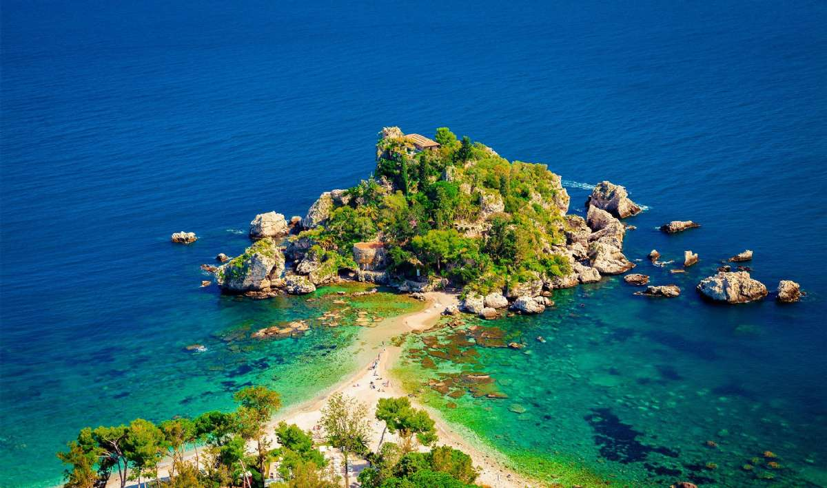 Isola Bella vid Taormina