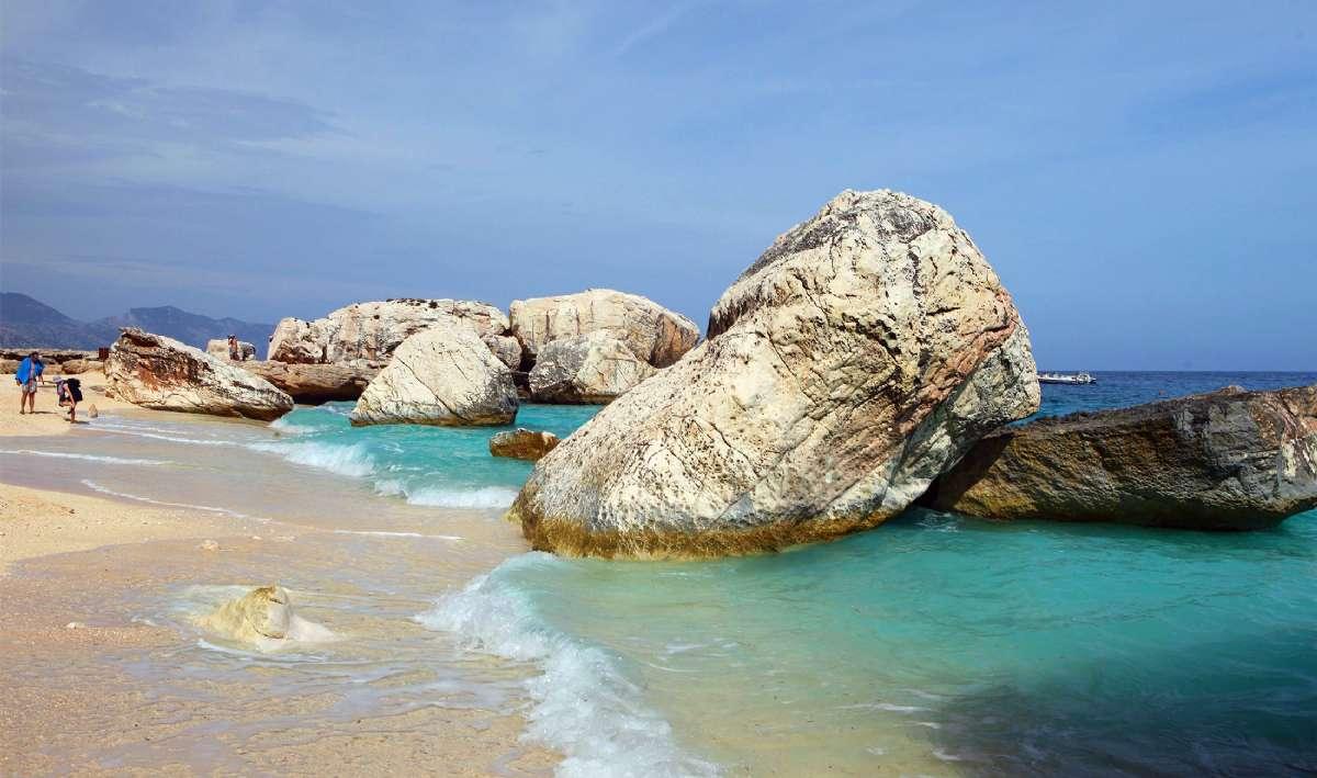 Stranden ved Cala Gonone