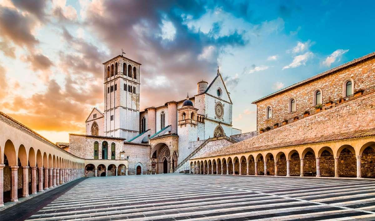 St. Francis basilikaen i Assisi