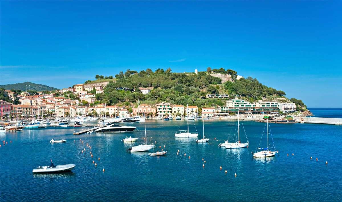 Porto Azzurro på Elba