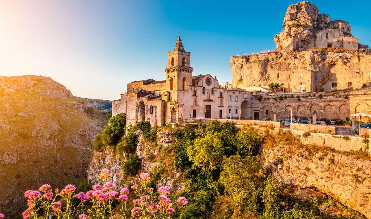 Den historiske by, Matera