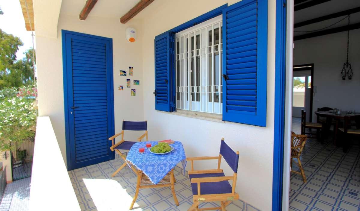 Terrassen til lejligheden Elisa 2