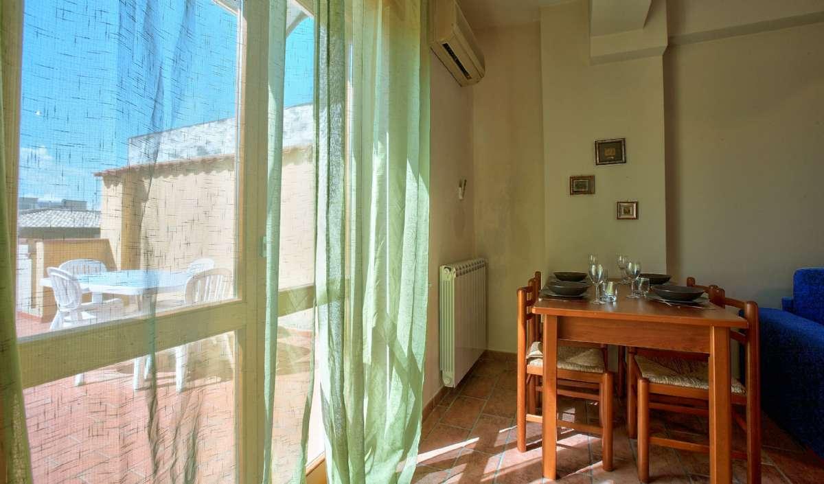 Lejlighed Conchiglia, 3. sal med terrasse