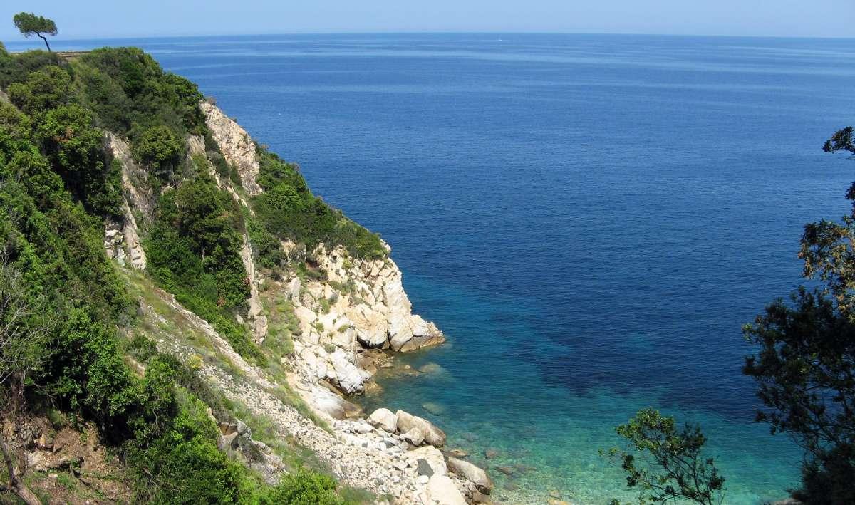 Kusten på Elba