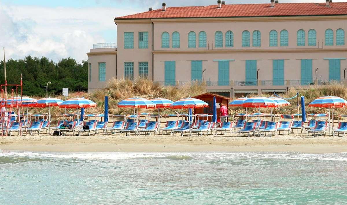 Stranden i Tirrenia