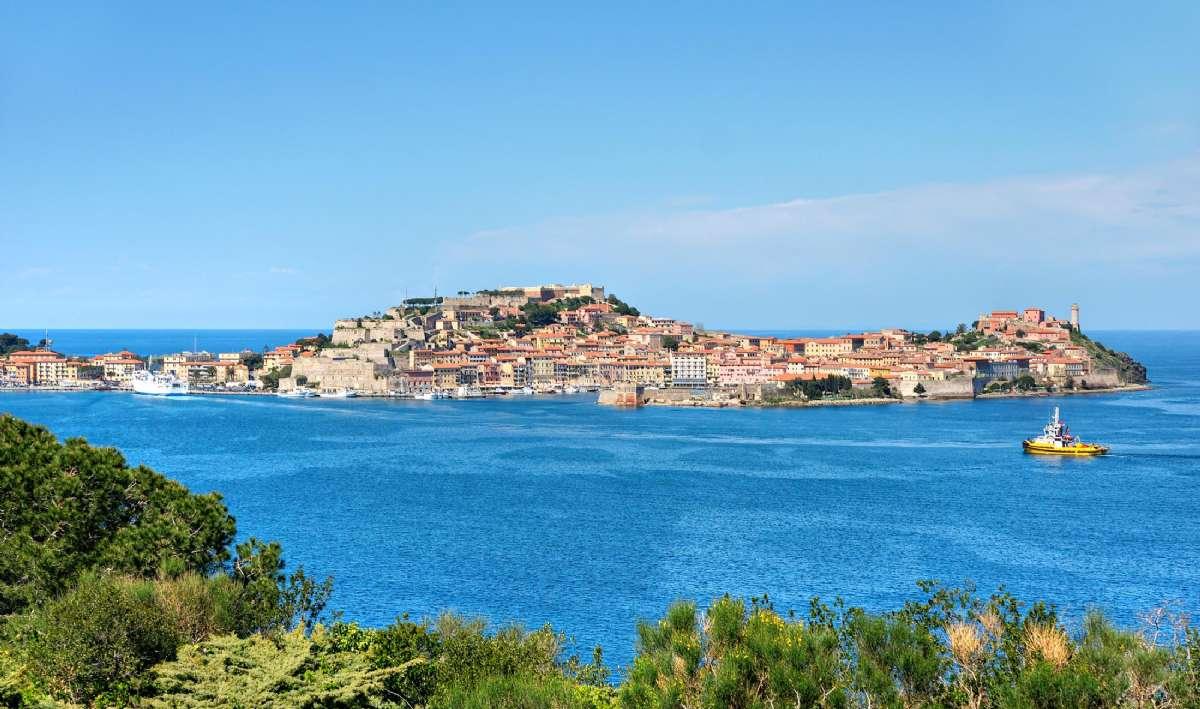 Porteferraio på Elba