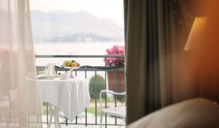 Ikke alle værelser har balkon