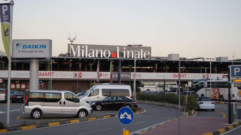 Udenfor Milano Linate Airport. Foto: Alfonzo Marchan - Flickr