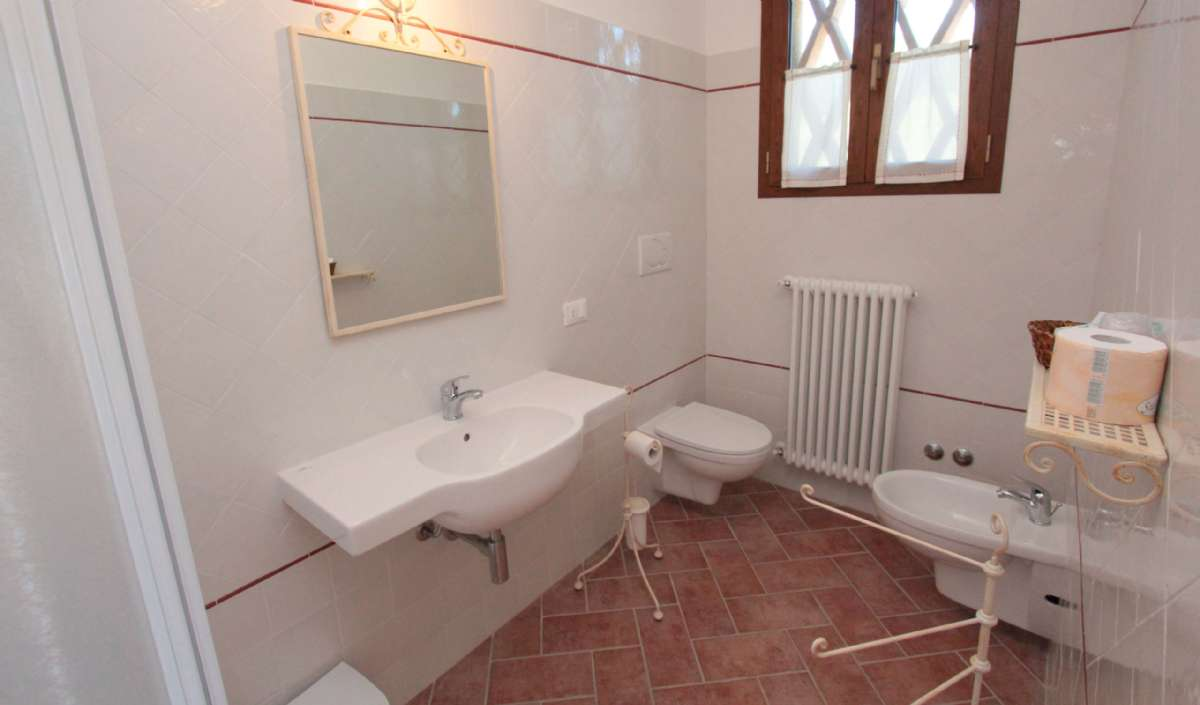 Eksempel på badeværelset