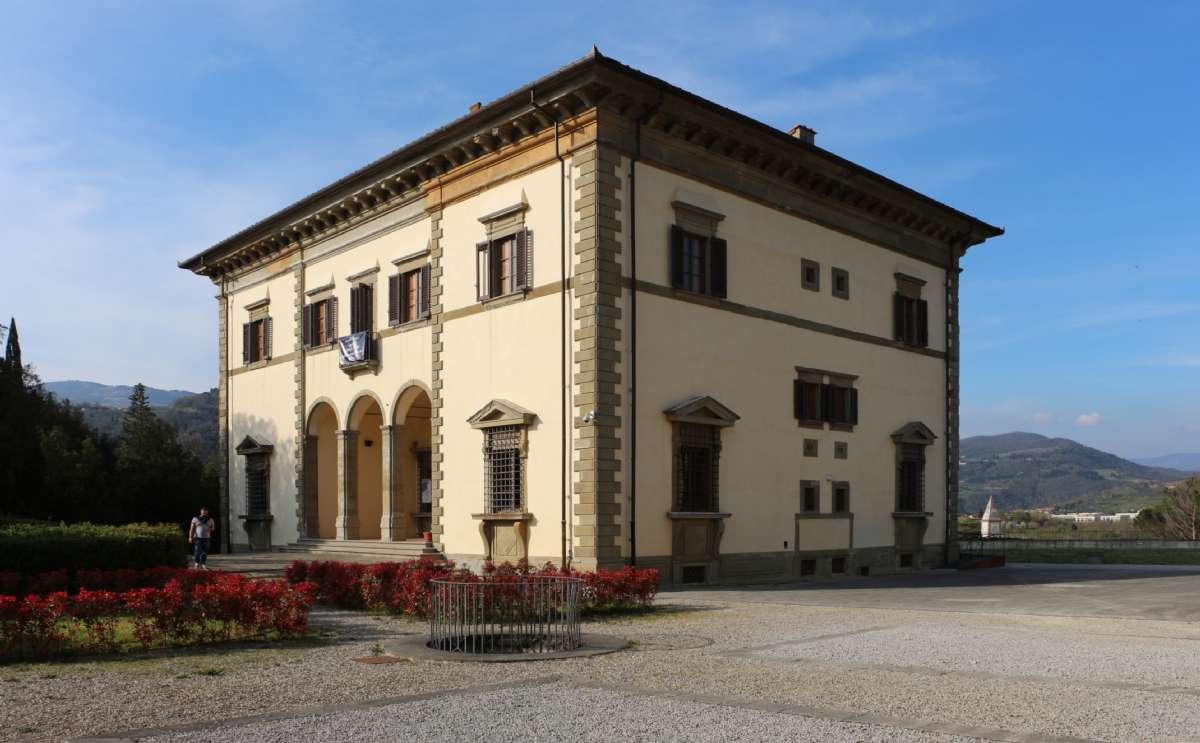 Villa Poggio Reale ligger centralt i Rufina (Foto: Sailko, Wikimedia Commons)