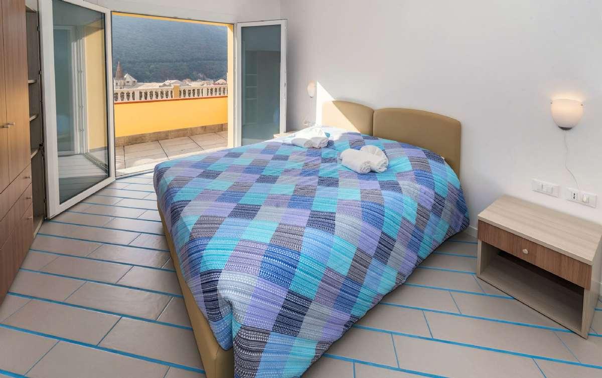 Schlafzimmer in der Wohnung Nr. 13