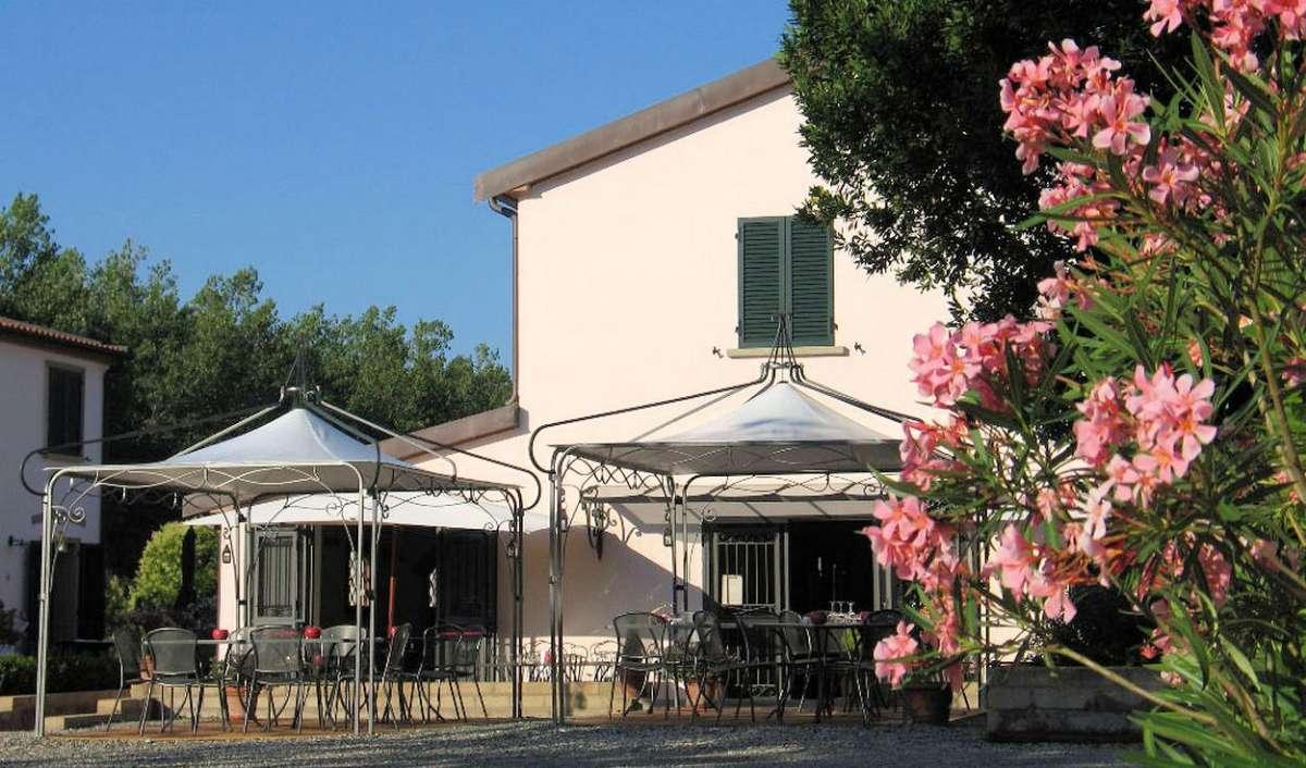 Restauranten på Fattoria La Steccaia