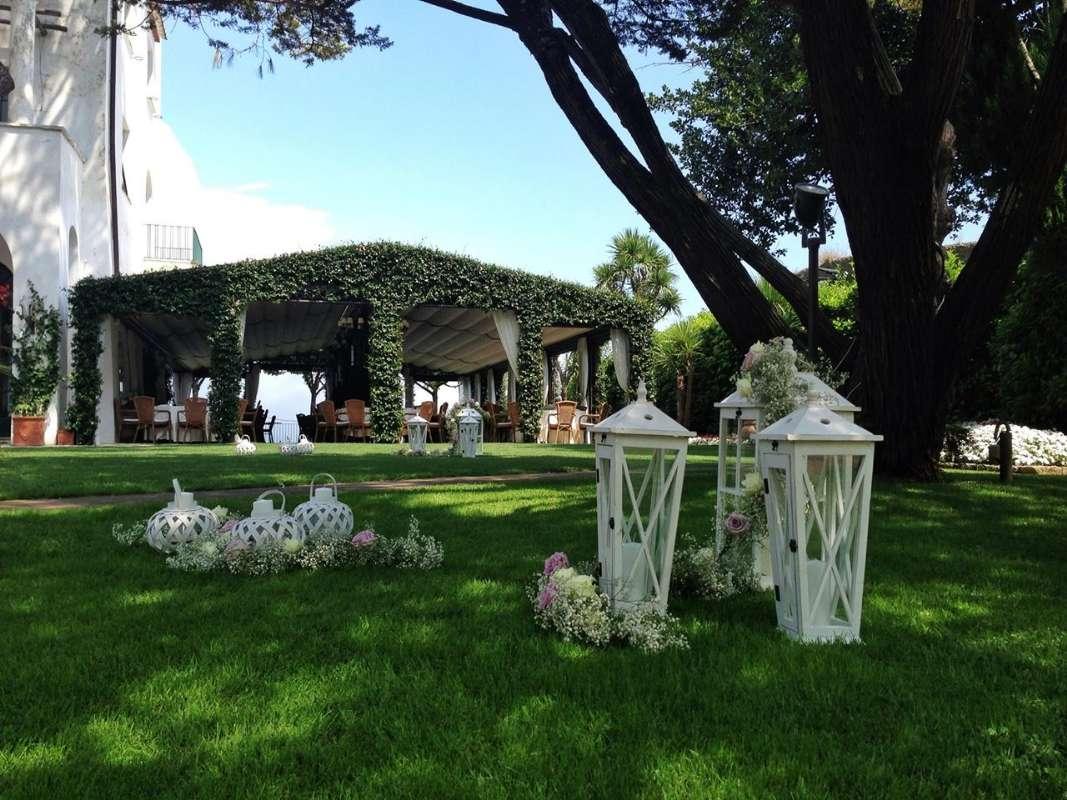 Villa Eva hører til hotellet, og benyttes ofte til bryllupper