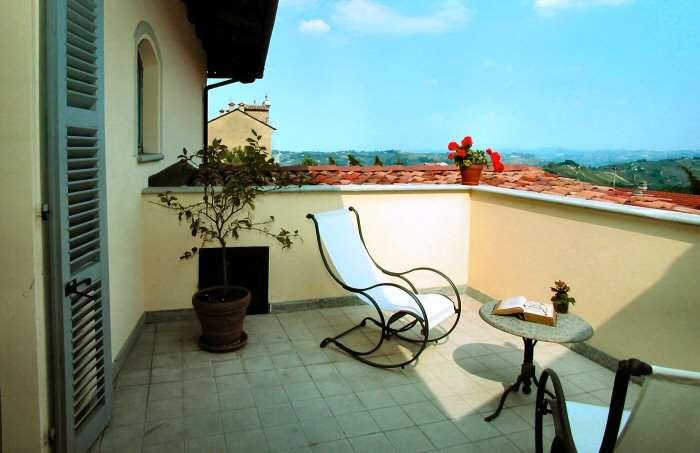 Terrasse til Superior-værelse