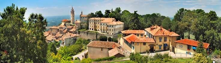 Villa Beccaris forrest til højre
